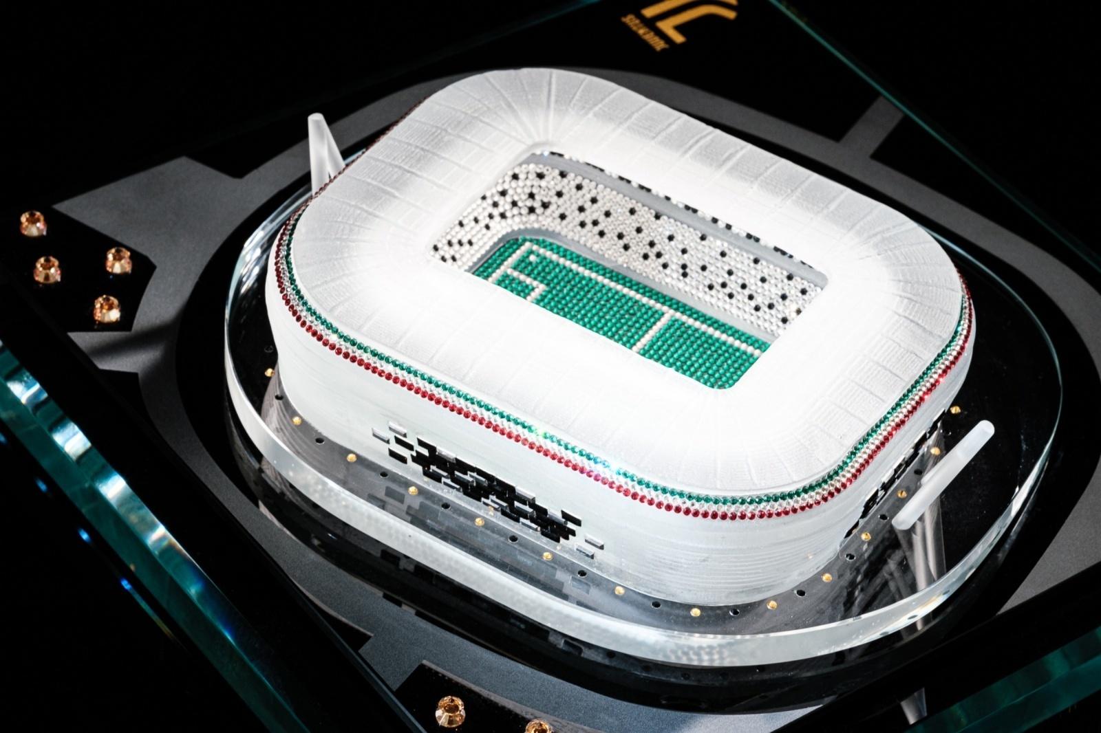 Allianz Stadium Football Stadium Models By Tarespa